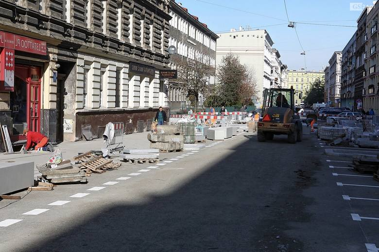 Kończy się remont ul. Małkowskiego w Szczecinie. Zobacz ZDJĘCIA