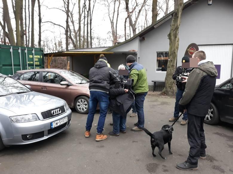 Zatrzymano pedofila przy Parku Południowym we Wrocławiu