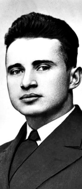 """Polscy kandydaci na """"żywe torpedy"""": kpr. rezerwy Edward Lutostański. Do wykorzystania tych ochotników nigdy nie doszło"""