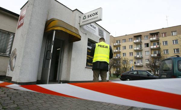 Napad z siekierą na SKOK w Rzeszowie. Nowe fakty