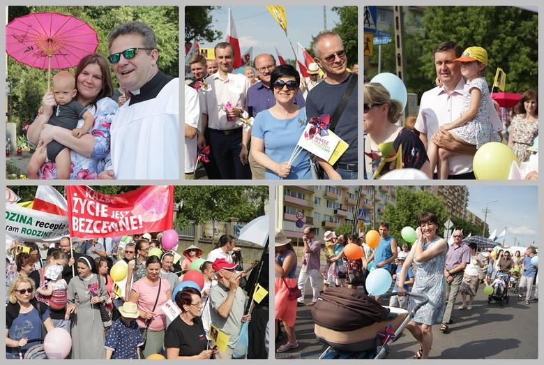 """W 150 miastach w całej Polsce zorganizowano """"Marsze dla Życia i Rodziny"""". Także we Włocławku w niedzielę przeszedł marsz ulicami osiedla Południe. Wydarzenie"""