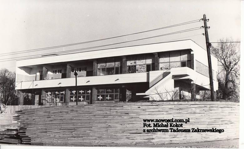 Ośrodek Sportów Wodnych w budowie - 1972 rokCzytaj też:Niepublikowane zdjęcia z lat 70. Osiedla w budowieTak wyglądał Toruń w latach 70.Toruń z lat 70.