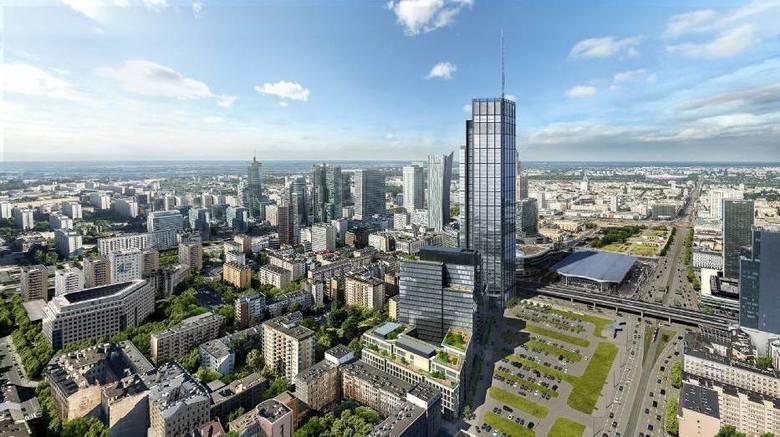 Varso - najwyższy wieżowiec w Unii Europejskiej - zostanie otwarty na przełomie 2021 i 2022 roku. Ale już za kilka miesięcy wieża osiągnie docelową wysokość.