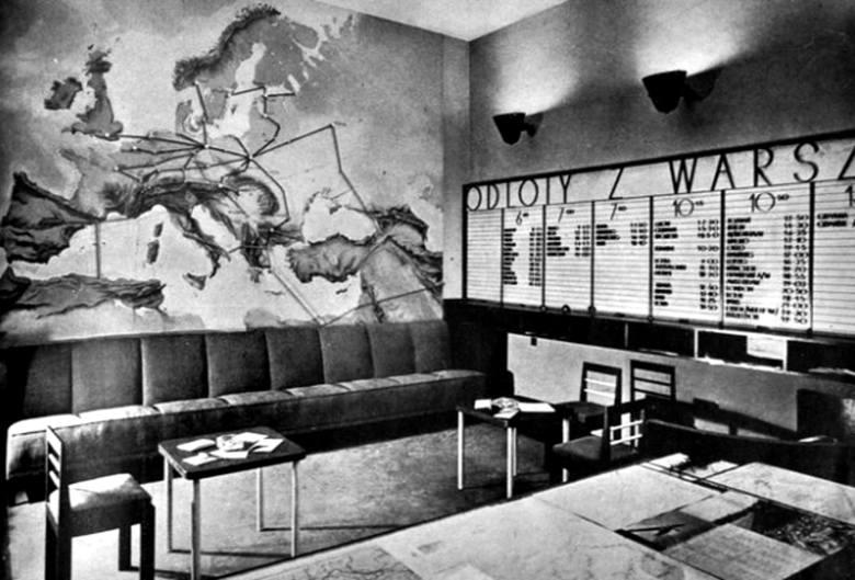 Makieta reprezentacyjnej Dzielnicy Mieszkaniowej im. Marszałka Józefa Piłsudskiego planowanej na osi alei Niepodległości, na terenie części dzisiejszego