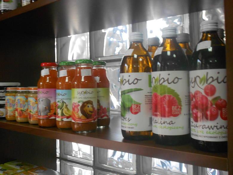 Postawiły na zdrową żywność. Nowy sklep eko w Białymstoku.Nie może zabraknąć też soków i syropów