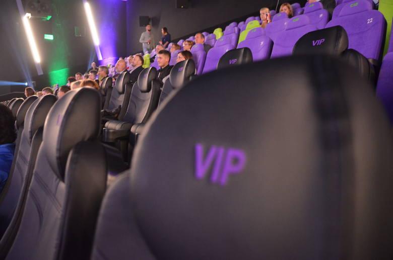 W Cinema3D jest pięć sal
