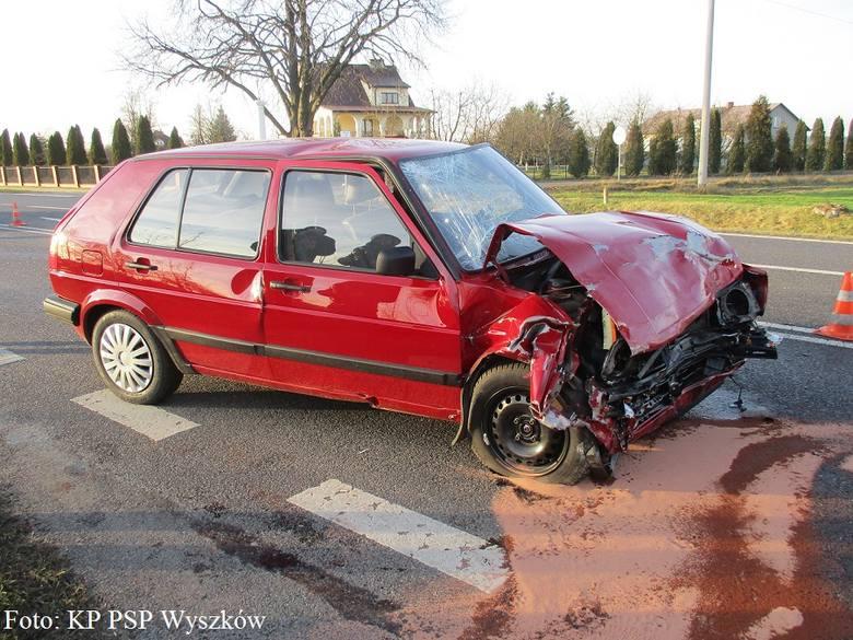 Do wypadku doszło w sobotę 26 listopada po południu.