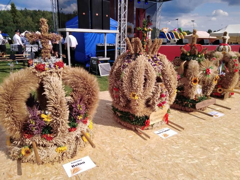Tradycyjne dożynki świętują w czwartek 15 sierpnia w gminie Bieliny. Mieszkańcy 15 sołectw przygotowali piękne wieńce ze zbóż i ziół. ZOBACZ NA KOLEJNYCH