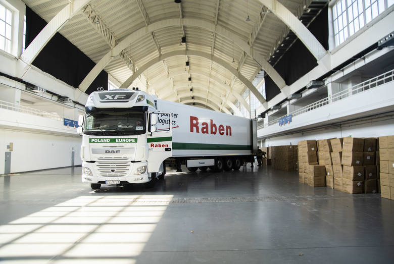 Grupa Raben zorganizowała charytatywnie transport sprzętu medycznego i środków ochronnych dla medyków walczących z COViD -19