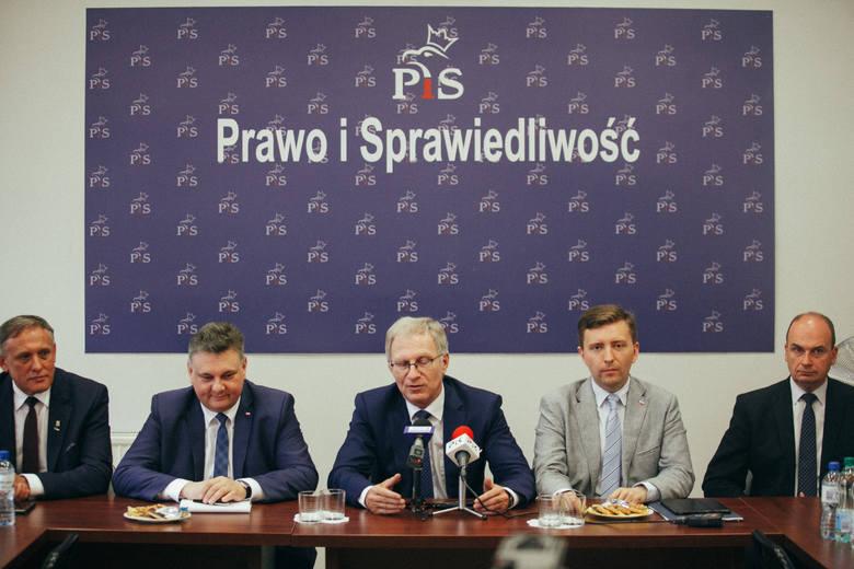 Konferencja Prawa i Sprawiedliwości w Bydgoszczy.