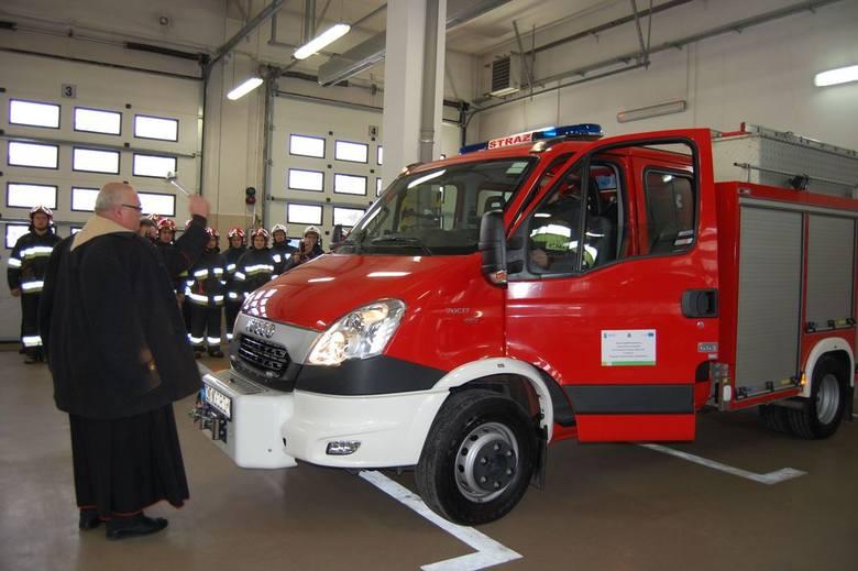 Nowy sprzęt dla strażaków z Nakła i Paterka