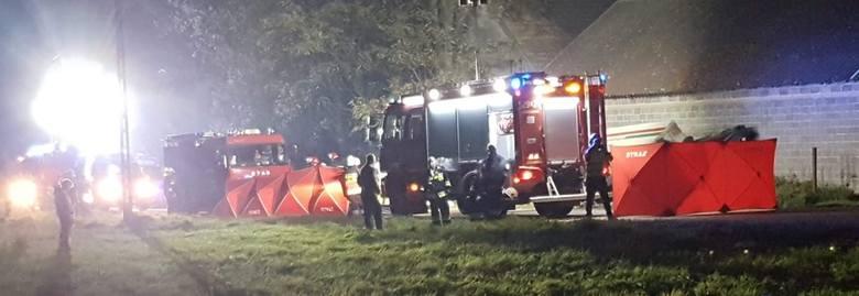 Małopolska. Wypadek w Niegardowie koło Proszowic. Nie żyją cztery osoby 25 10