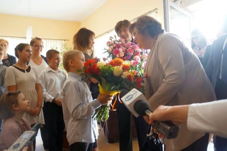 Anna Komorowska odwiedziła Dom Powrotu Stowarzyszenia Droga (zdjęcia)