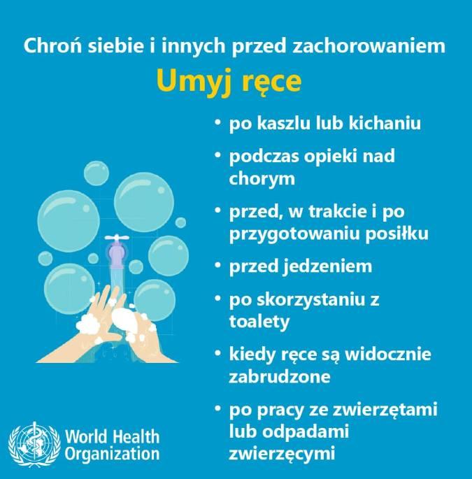 Jak uchronić się przed koronawirusem? Oto infografiki przygotowane przez Światową Organizację Zdrowia WHO. Sprawdźcie przydatne wskazówki.