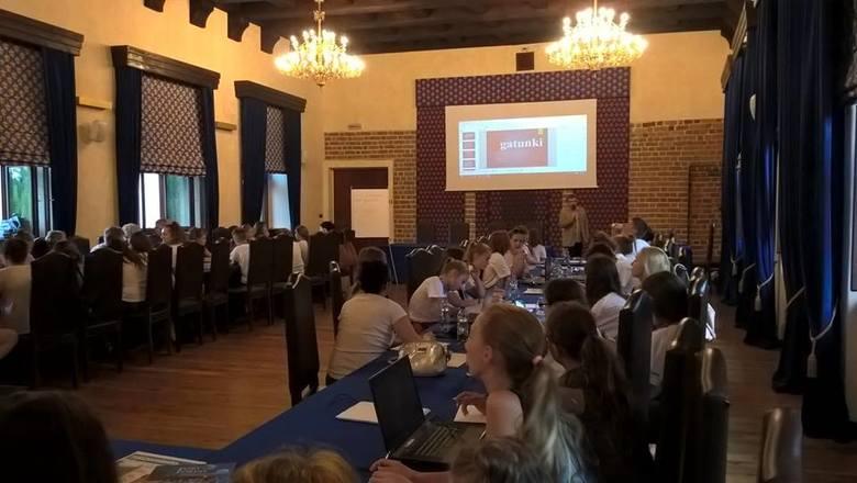Letnia Szkoła Junior Media - lekcja o kulturze