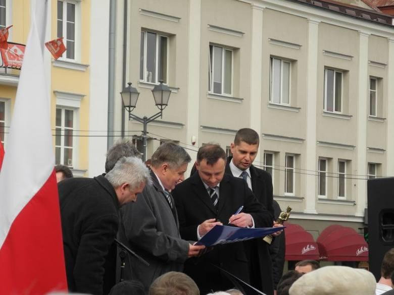 Andrzej Duda w Białymstoku