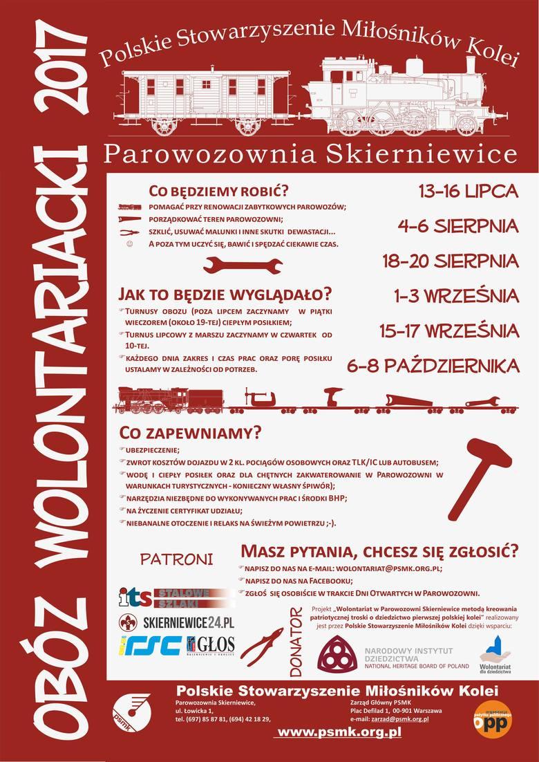 Obóz wolontariacki w Parowozowni Skierniewice