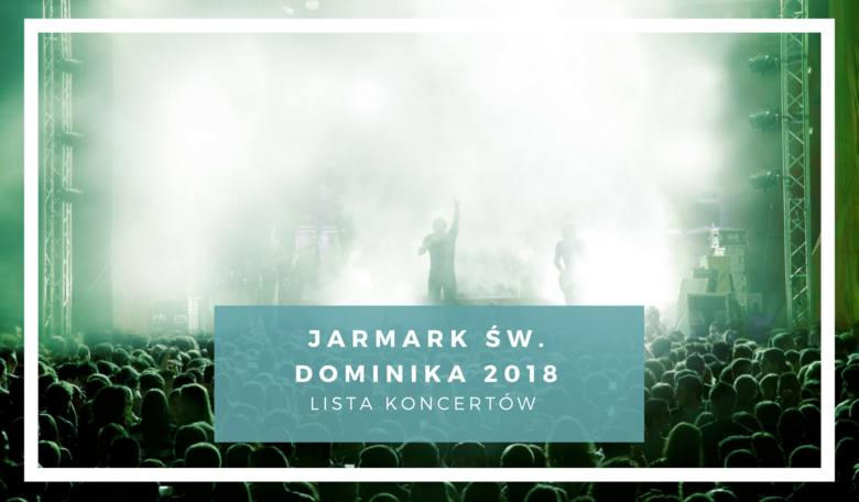Jarmark dominikański 2018 w Gdańsku rozpocznie się 28 lipca i potrwa do 19 sierpnia. Na czas trwania imprezy przygotowano wiele znakomitych koncertów.
