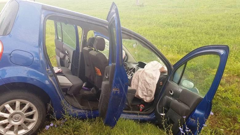 Wypadki w powiecie przasnyskim. 17.07.2019 r. Pierwszy w Chorzelach, drugi na drodze wyjazdowej z Przasnysza