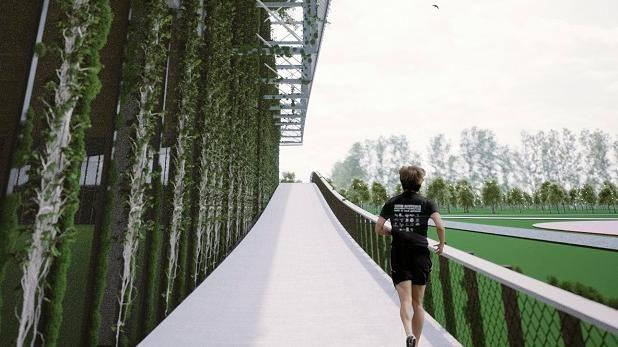 Hala na Golęcinie ma służyć m.in. biegaczom, dyskobolom, kulomiotom i skoczkom.