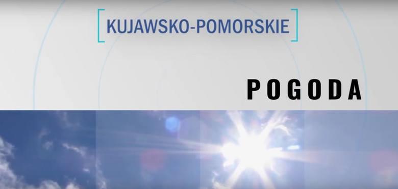 Pogoda do 25 lipca dla woj. kujawsko-pomorskiego [wideo]