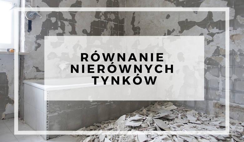 """Równanie nierównych tynków - 14 zł mkw.Zobacz też: Remont, który rujnuje życie lokatorów. """"Bareja miałby gotowy scenariusz"""""""