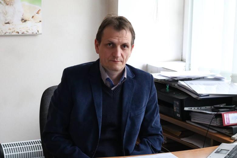 Sebastian Tiebler: - Rozwój powiatu zależy od sprawnej komunikacji.
