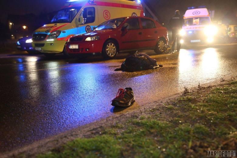 Do potrącenia doszło około godz. 19.00 na ul. Sosnkowskiego.