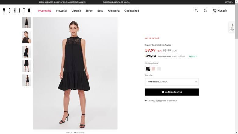 Sukienki na lato z Mohito: na wesele, eleganckie, koktajlowe. Sprawdź ofertę promocyjną sklepu Mohito [ZDJĘCIA, CENY]
