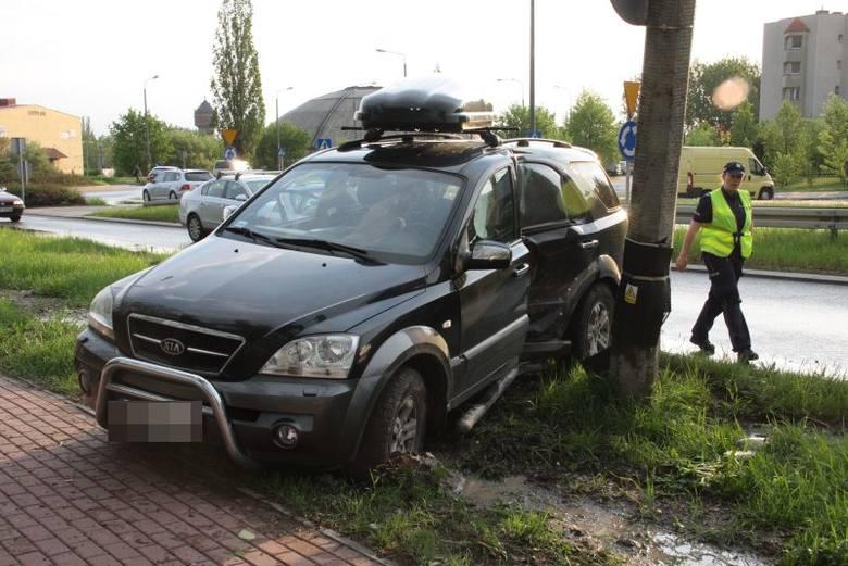 Do wypadku doszło późnym popołudniem na ul. Okulickiego w Opolu.