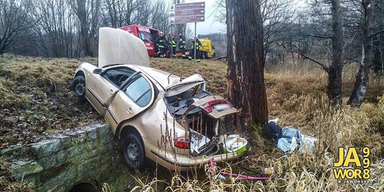Dwa groźne wypadki na DK3. Cztery osoby ranne
