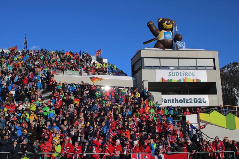 Stadion w Anterselvie - jeden z ważniejszych obiektów sportowych Południowego Tyrolu