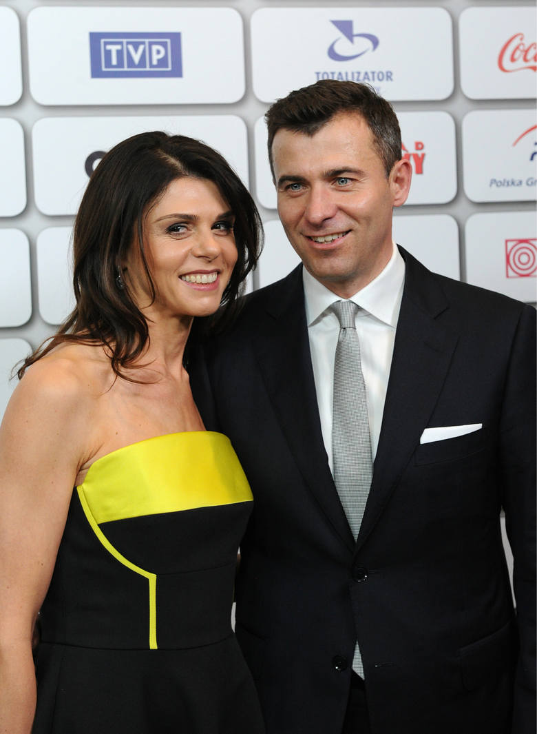 Bal Mistrzów Sportu. Na zdjęciu: Wojciech Olejniczak z żoną Anną