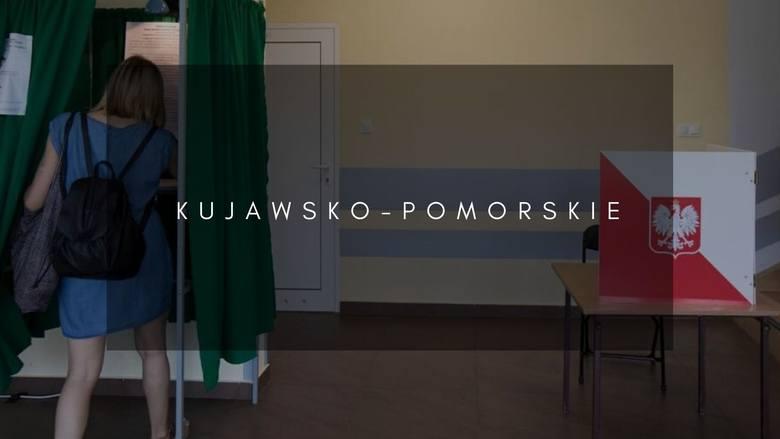 Województwo kujawsko-pomorskieFrekwencja do 17 - 45,51%Liczba kart wydanych w stałych obwodach głosowania - 712 498Liczba uprawnionych w stałych obwodach