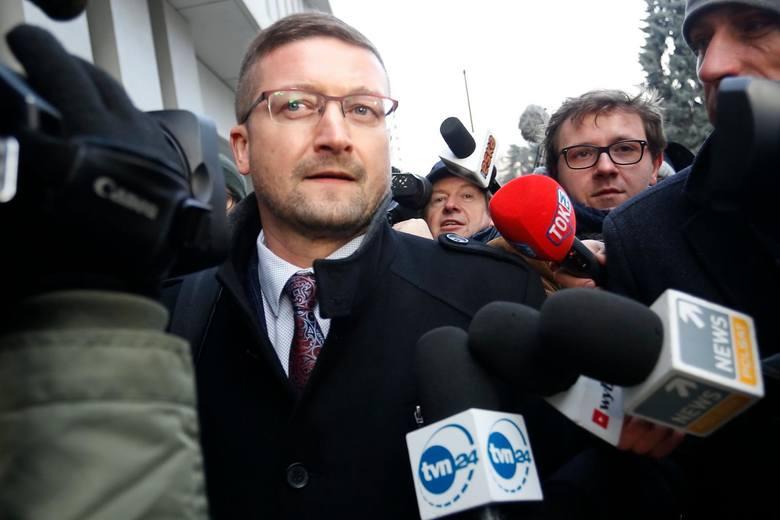 Sędzia Paweł Juszczyszyn był w Sejmie [ZDJĘCIA] [WIDEO] Kancelaria Sejmu nie pokazała sędziemu list poparcia do KRS