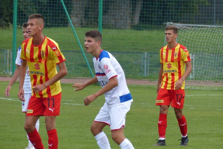 W pierwszym w tym roku meczu w Centralnej Lidze Juniorów do 17 lat piłkarze Korony Kielce przegrali na wyjeździe z Cracovią 1:3. Korona kończyła mecz