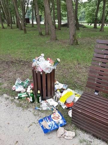 Cypel w Jodłowie, gm. wiejska Nowa Sól, 14 czerwca 2020 r.