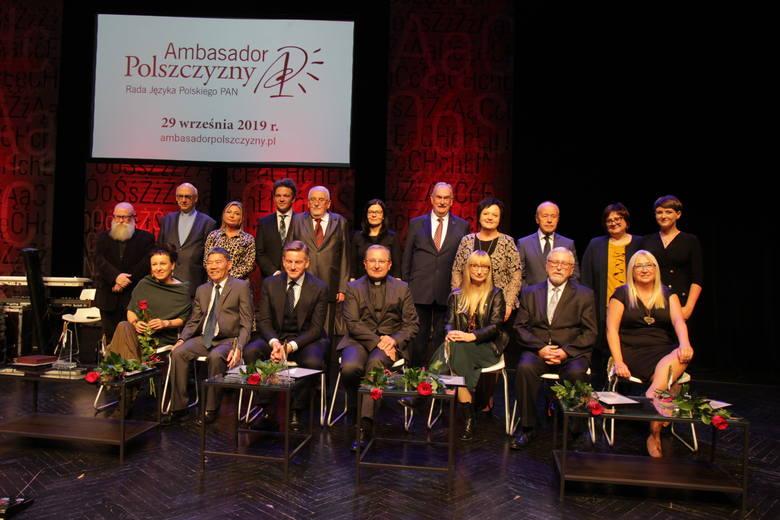 Wręczenie nagród Ambasador Polszczyzny odbyło się w niedzielę, 29 września 2019