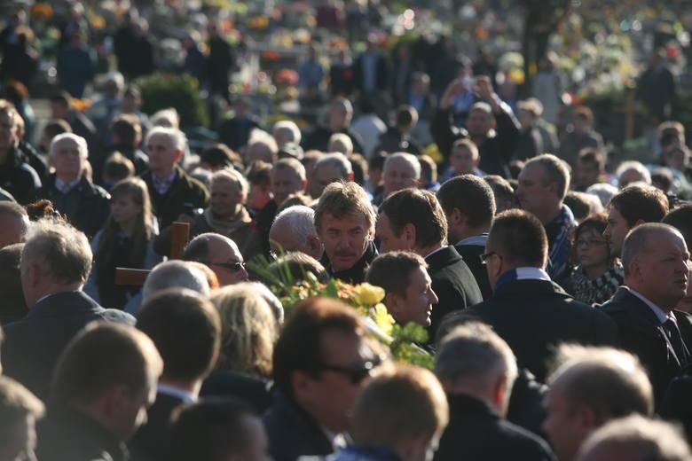 Pogrzeb Gerarda Cieślika