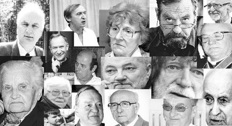 Związani z regioniem artyści, dziennikarze, społecznicy, naukowcy, lekarze, trenerzy... To ich pożegnaliśmy w ostatnim roku i będziemy wspominać 1 l