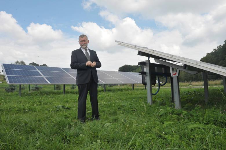 Kazimierz Jaworski, autor pomysłu parafialnych farm energii słonecznej i prezes Sieci Parków Energii Słonecznej, zrzeszającej spółki parafialne