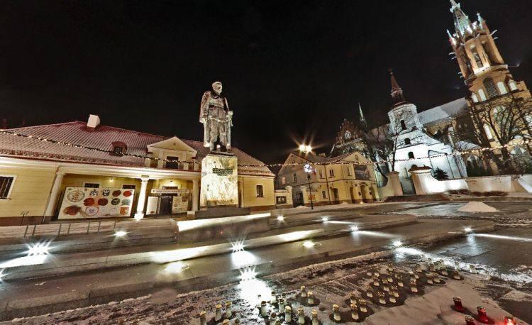 Białystok - panoramy świąteczne (zdjęcia)