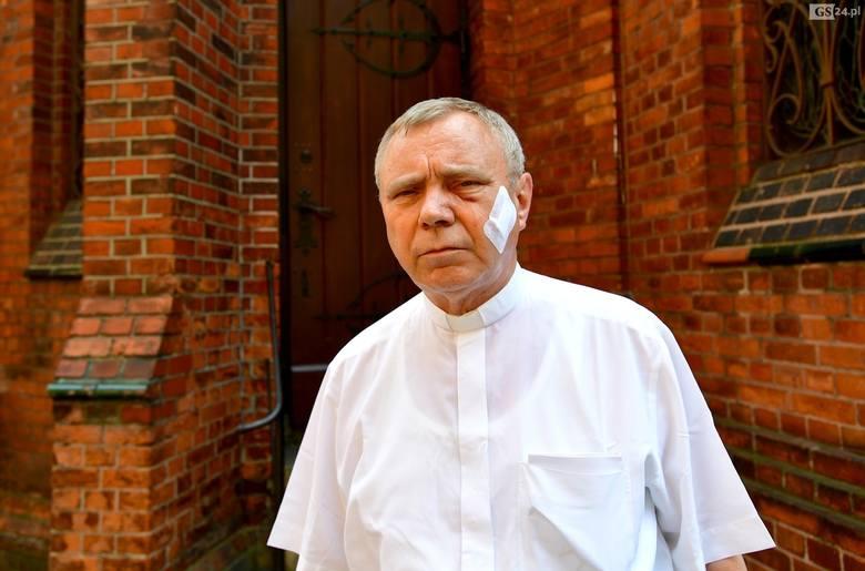 Pobicie księdza i kościelnego w Szczecinie. Dziś przesłuchanie zatrzymanych