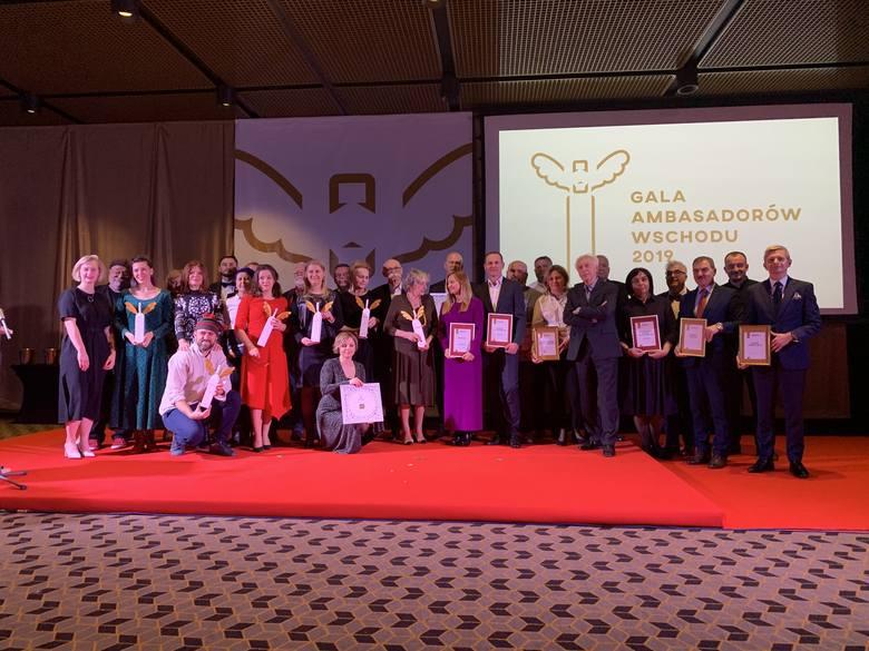 Laureaci, nominowani oraz członkowie kapituły Gali Ambasadorów Wschodu 2019