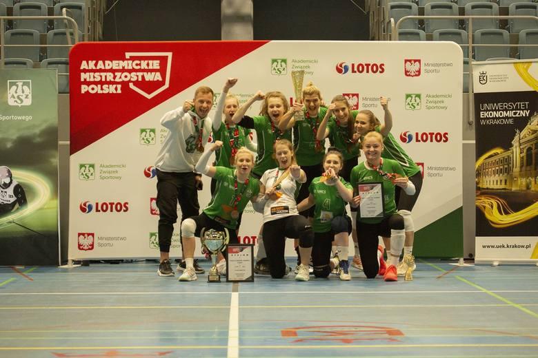 Brązowe medalistki AMP w Siatkówce Kobiet