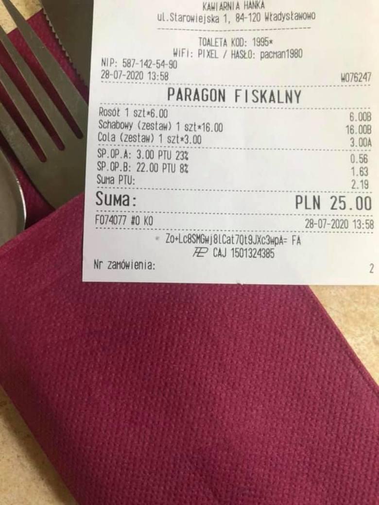 Bitwa na paragony z nadmorskich kurortów. Drogie obiady nad Bałtykiem? Restauracja z Władysławowa przekonuje, że można zjeść tanio