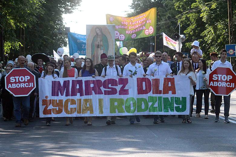 Przez Lublin przeszedł Marsz dla Życia i Rodziny [ZDJĘCIA, WIDEO]