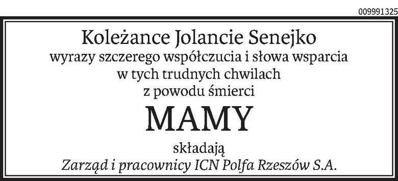Nekrologi i kondolencje z dnia 17 grudnia 2020 r.