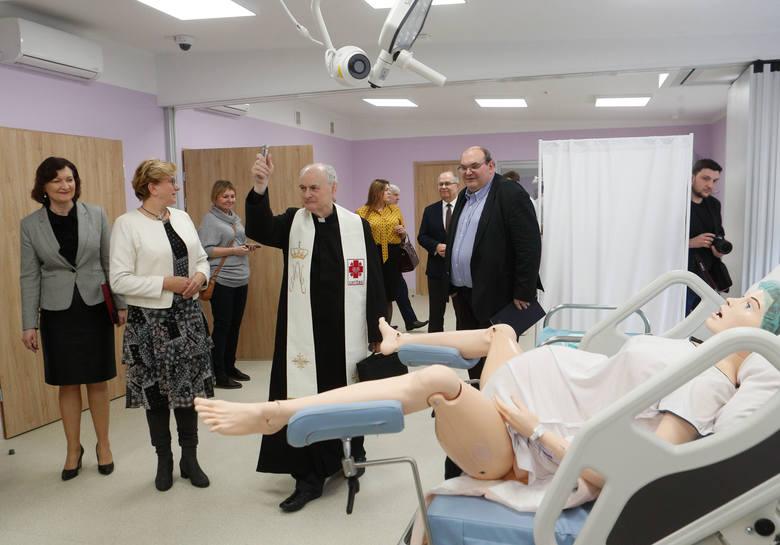 Otwarcie Centrum Symulacji Medycznej Uniwersytetu Rzeszowskieg.