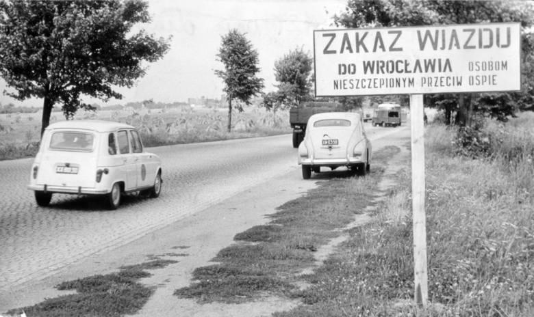 Ospa zaatakowała Wrocław 50 lat temu (ZDJĘCIA Z ARCHIWUM)